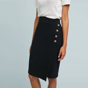 NWT Saturday/Sunday Buttoned Cloudfleece Skirt
